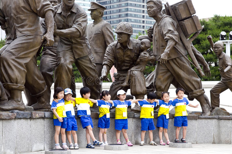 κορεατικός αναμνηστικός στοκ εικόνες