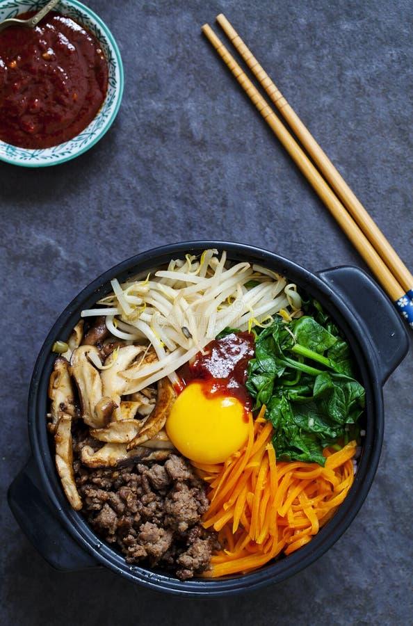 Κορεατικό Bibimbap στοκ φωτογραφία με δικαίωμα ελεύθερης χρήσης