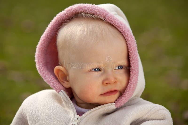 κοριτσάκι παλαιό έτος στοκ εικόνα με δικαίωμα ελεύθερης χρήσης