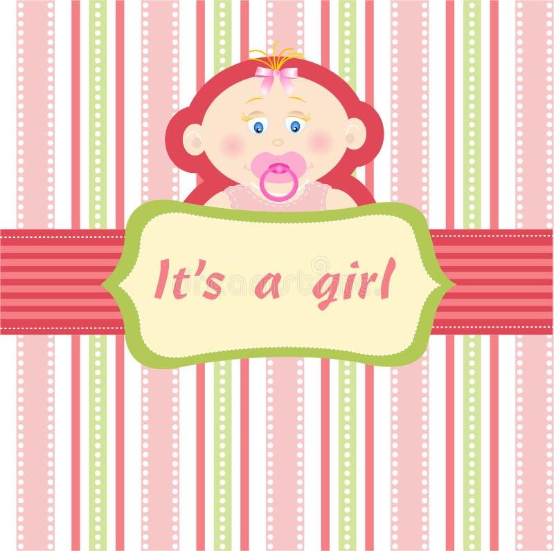 κοριτσάκι διανυσματική απεικόνιση