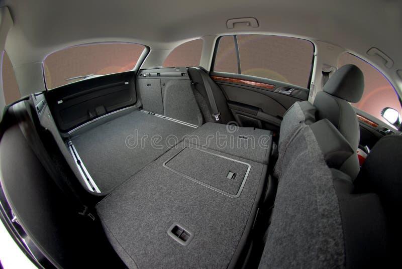 Κορμός αυτοκινήτων, εσωτερικό αυτοκινήτων στοκ εικόνες