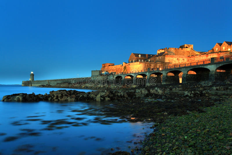 Κορνέτα Castle Guernsey στοκ φωτογραφία με δικαίωμα ελεύθερης χρήσης