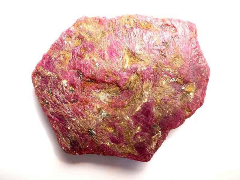 Κορούνδιο κρυστάλλου στοκ φωτογραφία