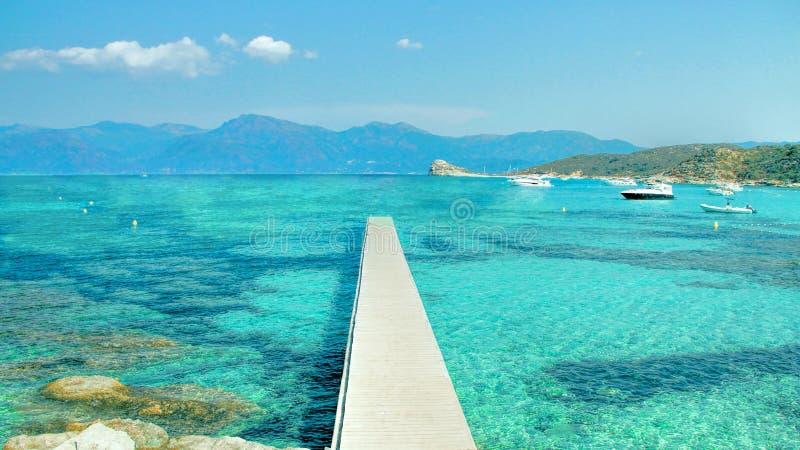 Κορσική - το νησί της ομορφιάς, Γαλλία στοκ φωτογραφία με δικαίωμα ελεύθερης χρήσης
