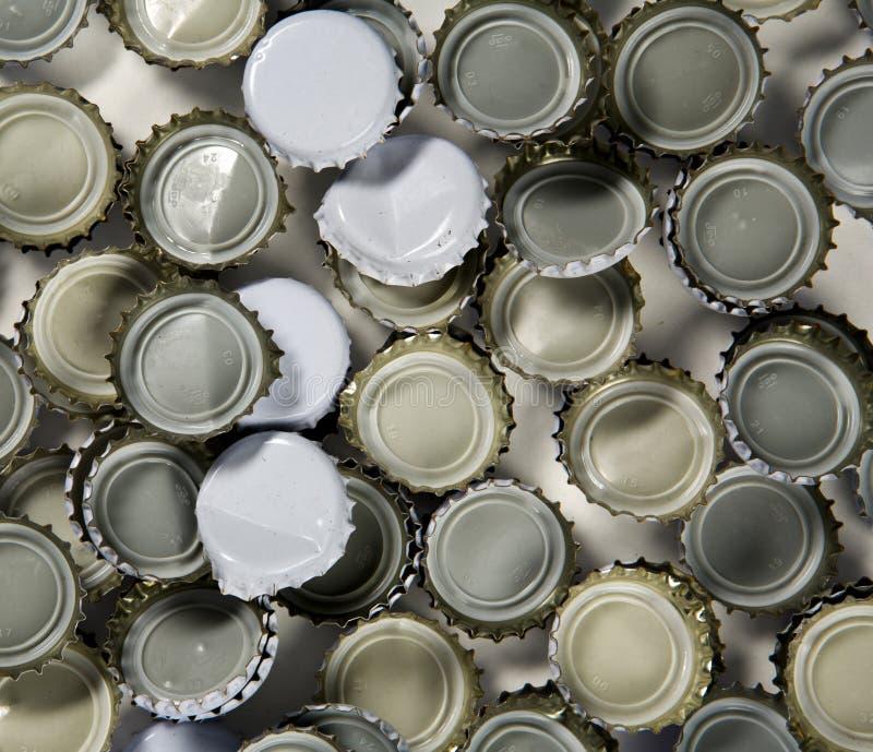 κορυφές μπουκαλιών στοκ φωτογραφία με δικαίωμα ελεύθερης χρήσης