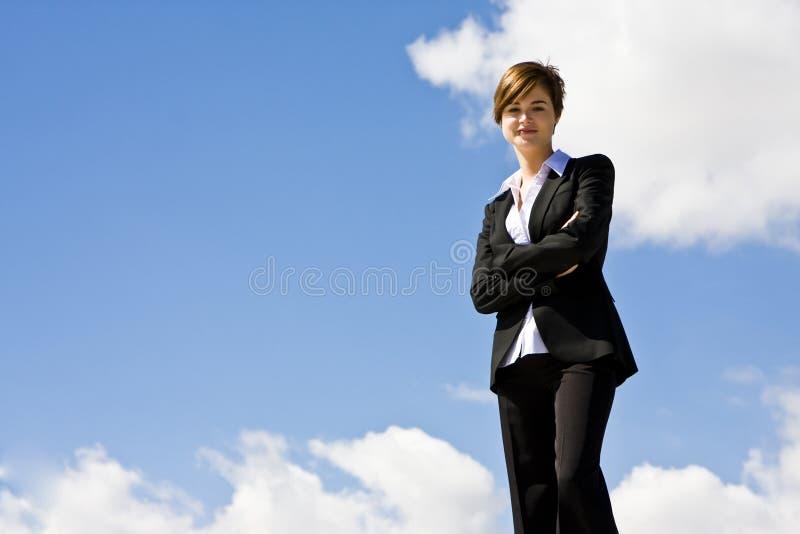 κορυφή επιχειρηματιών στοκ φωτογραφίες