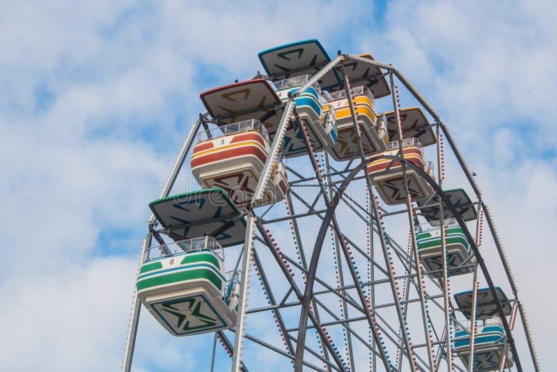 Κορυφή ροδών Ferris στοκ φωτογραφία με δικαίωμα ελεύθερης χρήσης