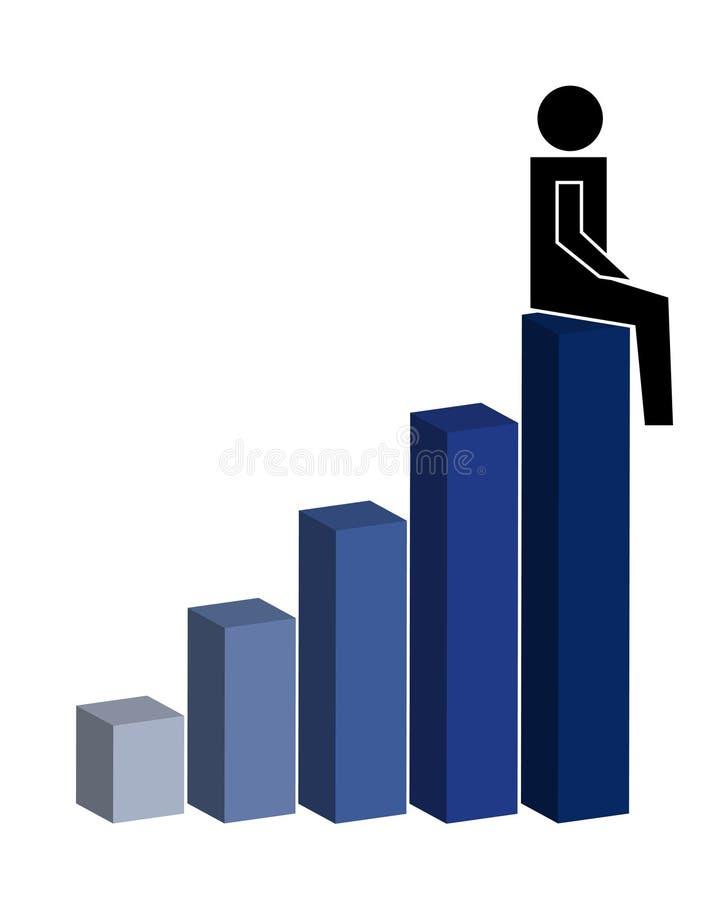 κορυφή συνεδρίασης απεικόνιση αποθεμάτων