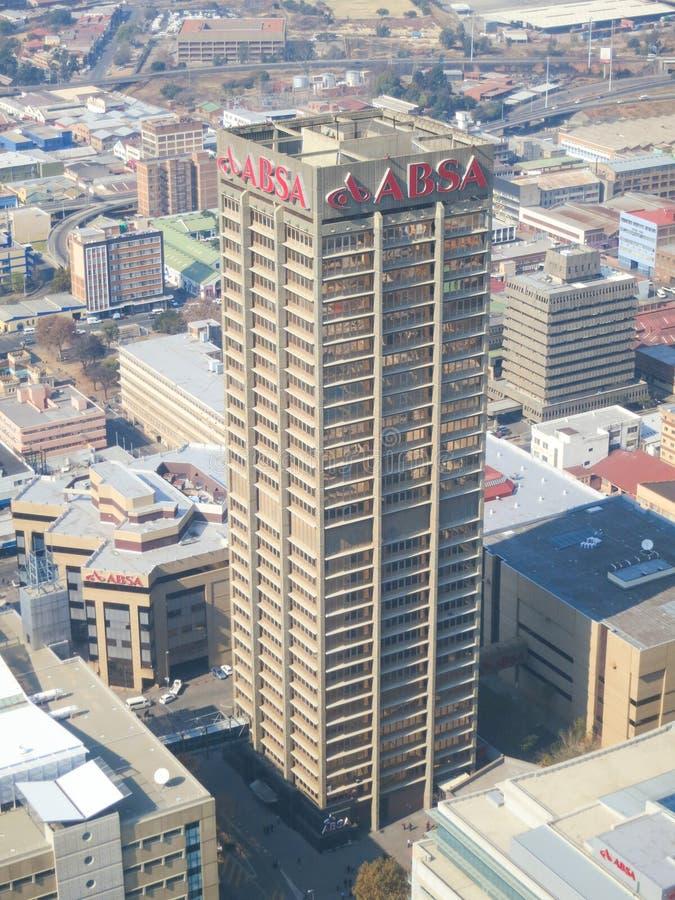 Κορυφή της άποψης της Αφρικής, Γιοχάνεσμπουργκ, Νότια Αφρική στοκ εικόνες