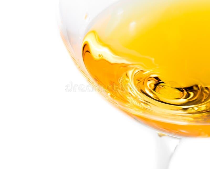 Κορυφή της άποψης των άσπρων γυαλιών κρασιού με το διάστημα για το κείμενο στοκ φωτογραφίες με δικαίωμα ελεύθερης χρήσης