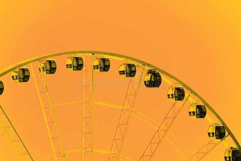 Κορυφή της μεγάλης ρόδας του Σιάτλ στοκ φωτογραφίες με δικαίωμα ελεύθερης χρήσης