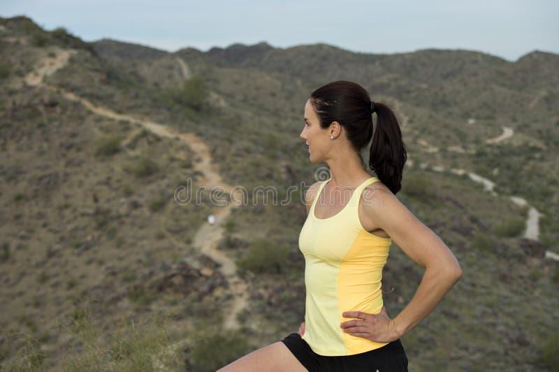 Κορυφή του ίχνους ερήμων στοκ φωτογραφία με δικαίωμα ελεύθερης χρήσης