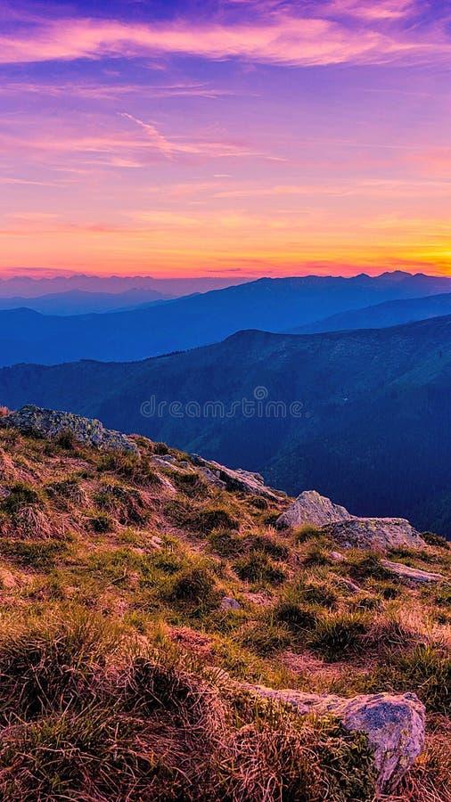 Κορυφή του βουνού στοκ εικόνα με δικαίωμα ελεύθερης χρήσης