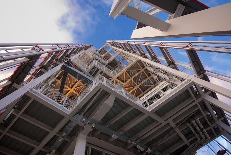 Κορυφή του Shard Λονδίνο Αγγλία  στοκ εικόνες