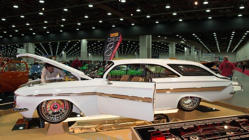 1961 κορυφή φυσαλίδων Chevrolet Impala στοκ φωτογραφίες