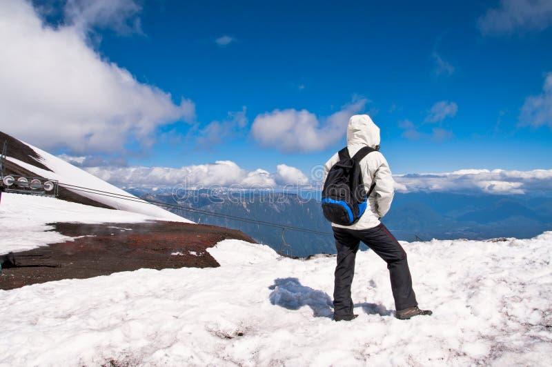 κορυφαίος τουρίστας στοκ εικόνες με δικαίωμα ελεύθερης χρήσης