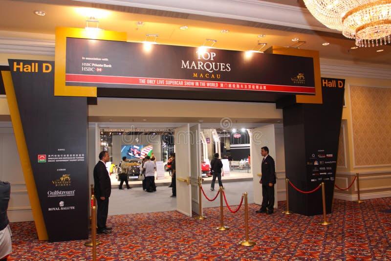 Κορυφαίο Marques Μακάο 2011 στοκ φωτογραφίες