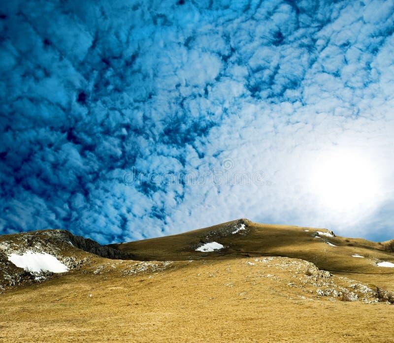 κορυφογραμμή βουνών στοκ εικόνες