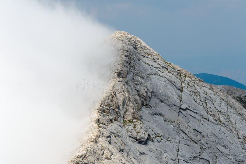 Κορυφογραμμή Koncheto στο βουνό Pirin, Βουλγαρία στοκ φωτογραφία