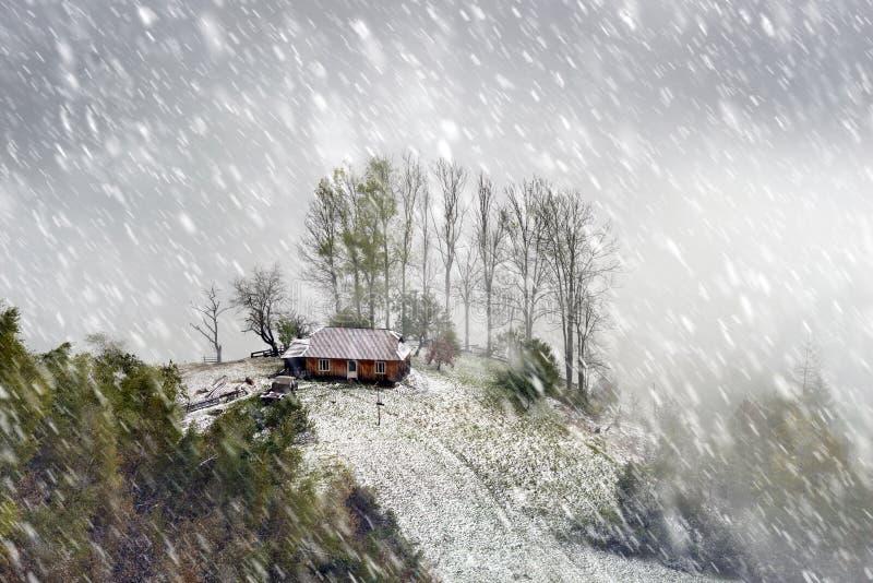 Κορυφογραμμή Sokal το φθινόπωρο στοκ εικόνες