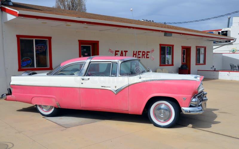 1955 κορώνα Βικτώρια της Ford στοκ φωτογραφία με δικαίωμα ελεύθερης χρήσης