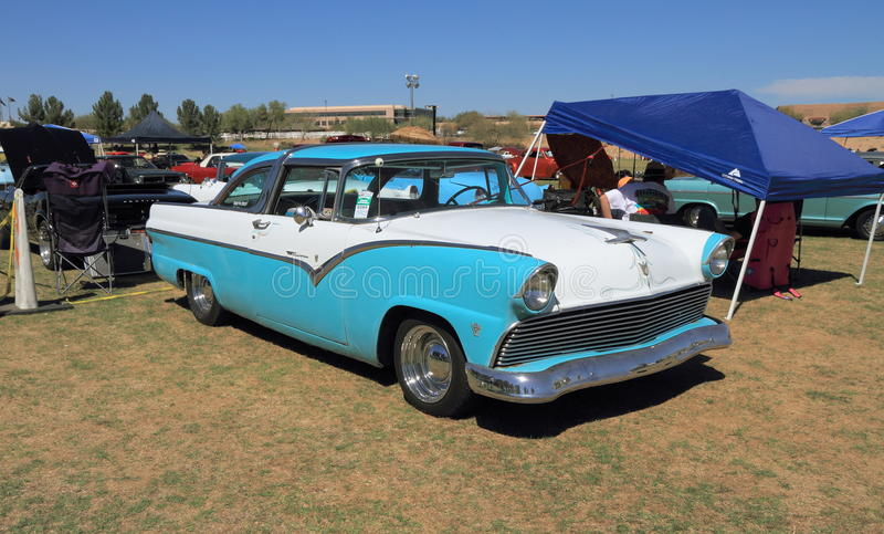 Κορώνα Βικτώρια της Ford (1955) στοκ φωτογραφίες