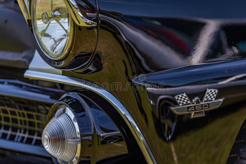 1955 κορώνα Βικτώρια της Ford Fairlane στοκ φωτογραφία