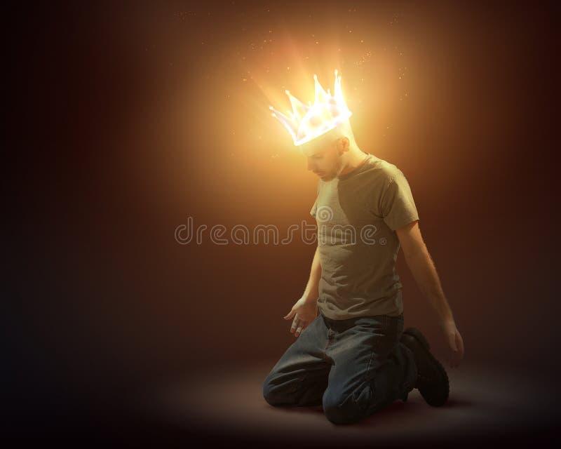 Κορώνα του φωτός στοκ φωτογραφία