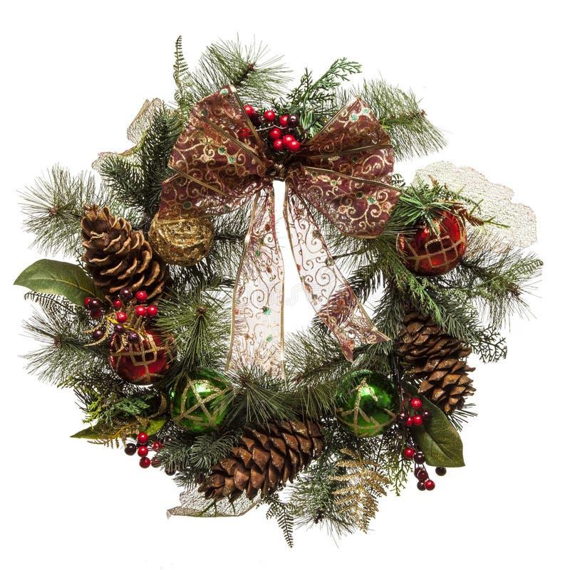 Κορώνα Χριστουγέννων στοκ εικόνες