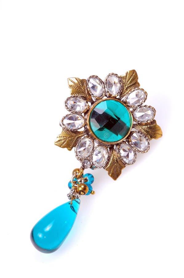 κοσμήματα διαμαντιών πορπώ&nu στοκ φωτογραφίες