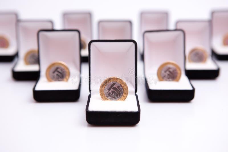 κοσμήματα νομισμάτων κιβω στοκ φωτογραφίες με δικαίωμα ελεύθερης χρήσης