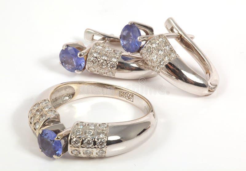 κοσμήματα ντεκόρ ανασκόπη&sig στοκ φωτογραφία