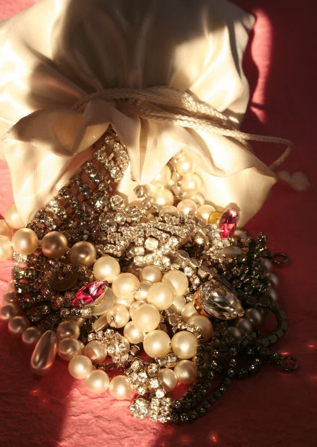 κοσμήματα τσαντών στοκ εικόνες