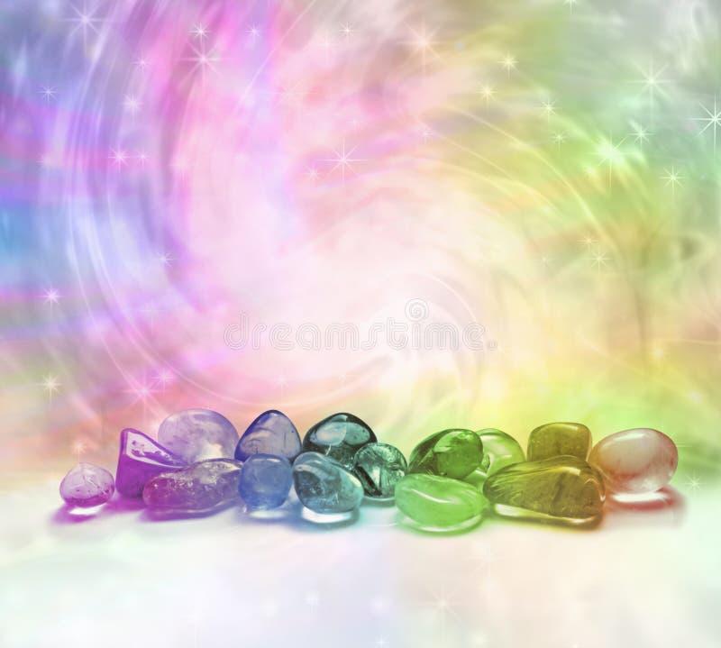 Κοσμικά κρύσταλλα θεραπείας στοκ εικόνες με δικαίωμα ελεύθερης χρήσης