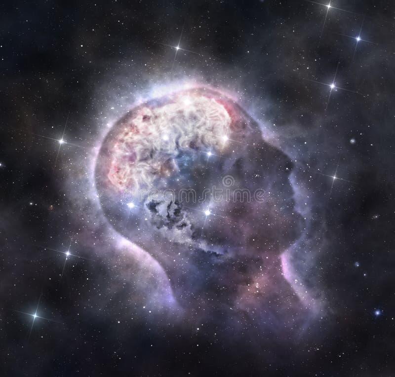 Κοσμικό μυαλό στοκ εικόνες με δικαίωμα ελεύθερης χρήσης