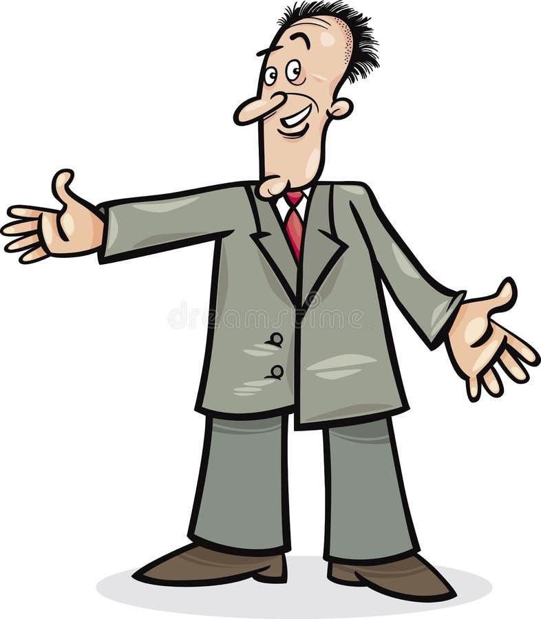 Download κοστούμι ατόμων κινούμενων σχεδίων Διανυσματική απεικόνιση - εικονογραφία από χαρακτήρας, επιχειρηματίας: 22793539