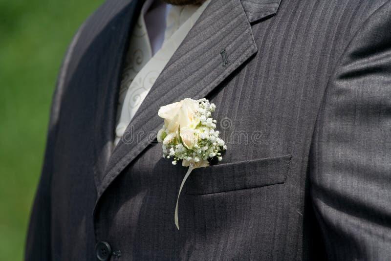 κοστούμι γαμπρών στοκ φωτογραφία με δικαίωμα ελεύθερης χρήσης