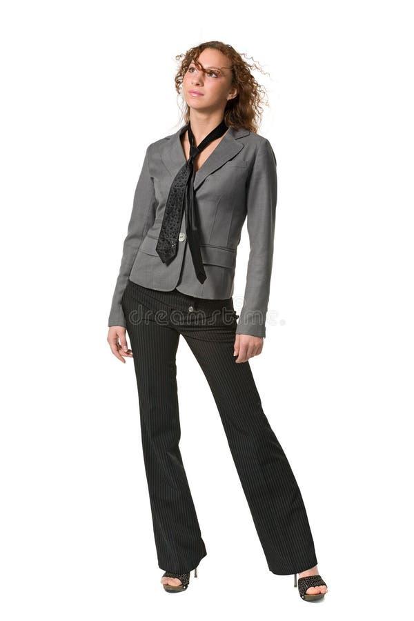 κοστούμι επιχειρησιακών κοριτσιών στοκ εικόνα με δικαίωμα ελεύθερης χρήσης