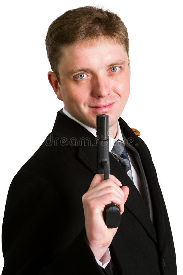 κοστούμι πιστολιών ατόμων & στοκ φωτογραφία με δικαίωμα ελεύθερης χρήσης