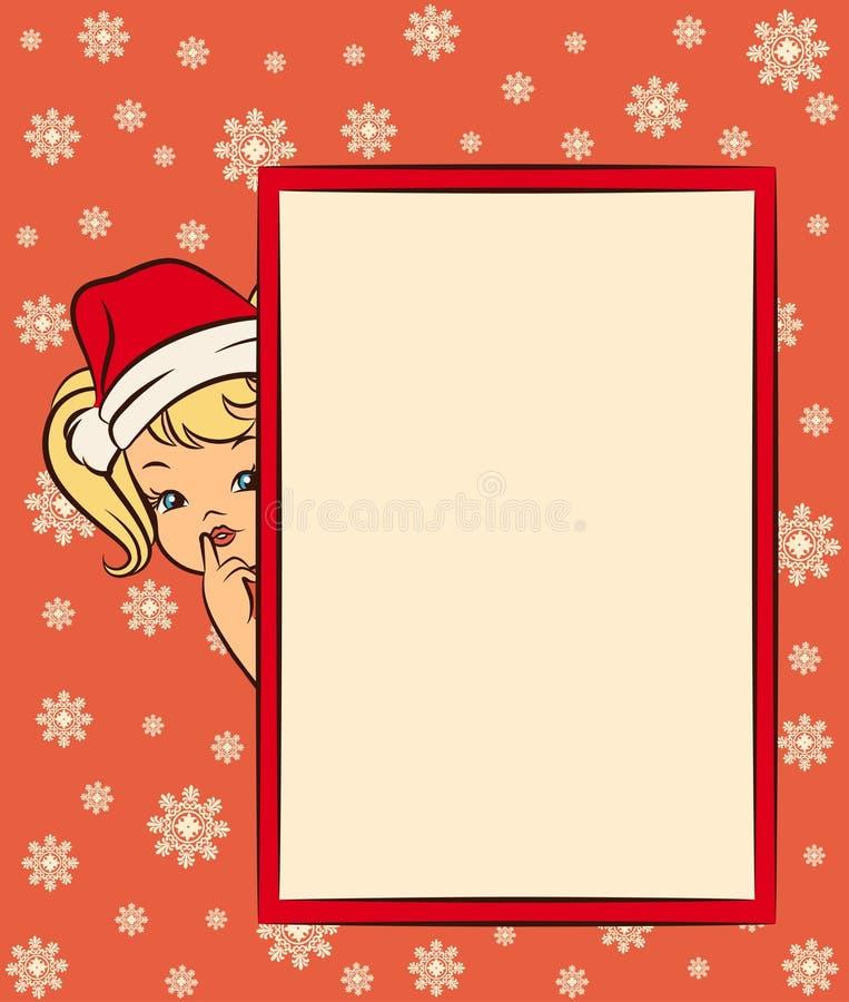 κοστούμι χιονιού κοριτσ& ελεύθερη απεικόνιση δικαιώματος
