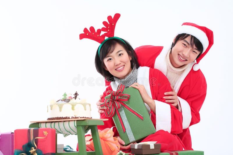 Κοστούμι Χριστουγέννων στοκ εικόνες