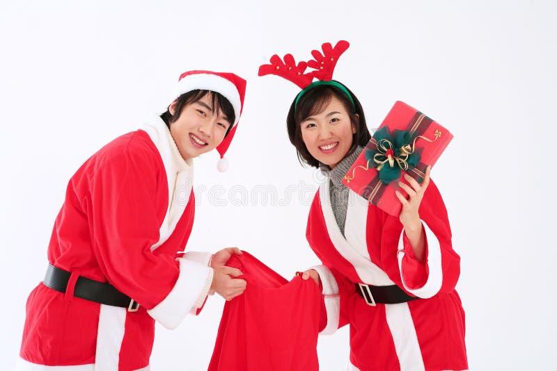 Κοστούμι Χριστουγέννων στοκ φωτογραφίες