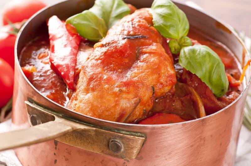 κοτόπουλο μαγειρεμένων  στοκ εικόνα με δικαίωμα ελεύθερης χρήσης