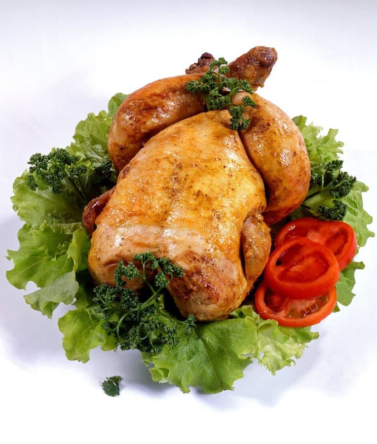 κοτόπουλο που ψήνεται