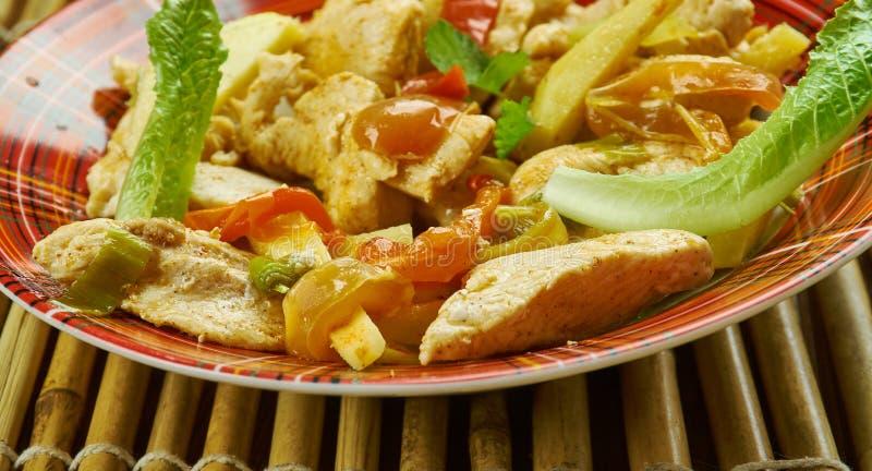 Κοτόπουλο Mala Szechuan στοκ φωτογραφία με δικαίωμα ελεύθερης χρήσης