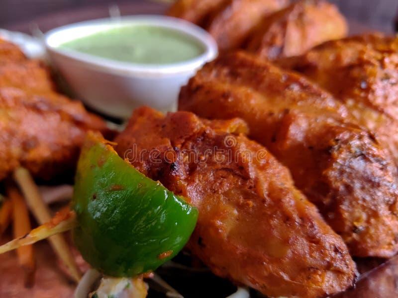 Κοτόπουλο Momo Tandoori στοκ εικόνες