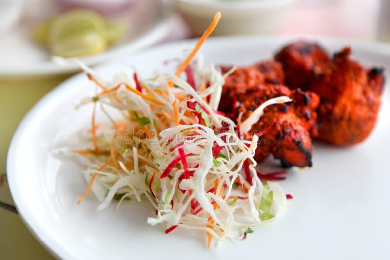Κοτόπουλο Tandoori στοκ εικόνες με δικαίωμα ελεύθερης χρήσης