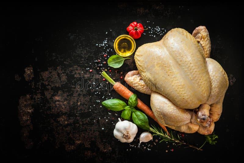 κοτόπουλο ακατέργαστο στοκ φωτογραφίες με δικαίωμα ελεύθερης χρήσης