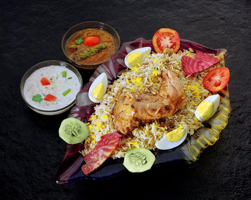 Κοτόπουλο Biryani στοκ φωτογραφίες