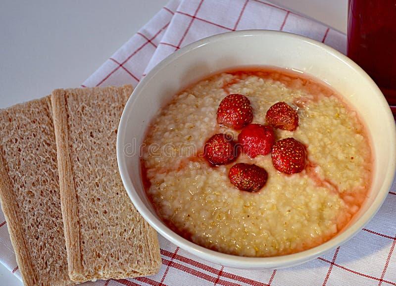 Κουάκερ oatmeal στοκ εικόνες